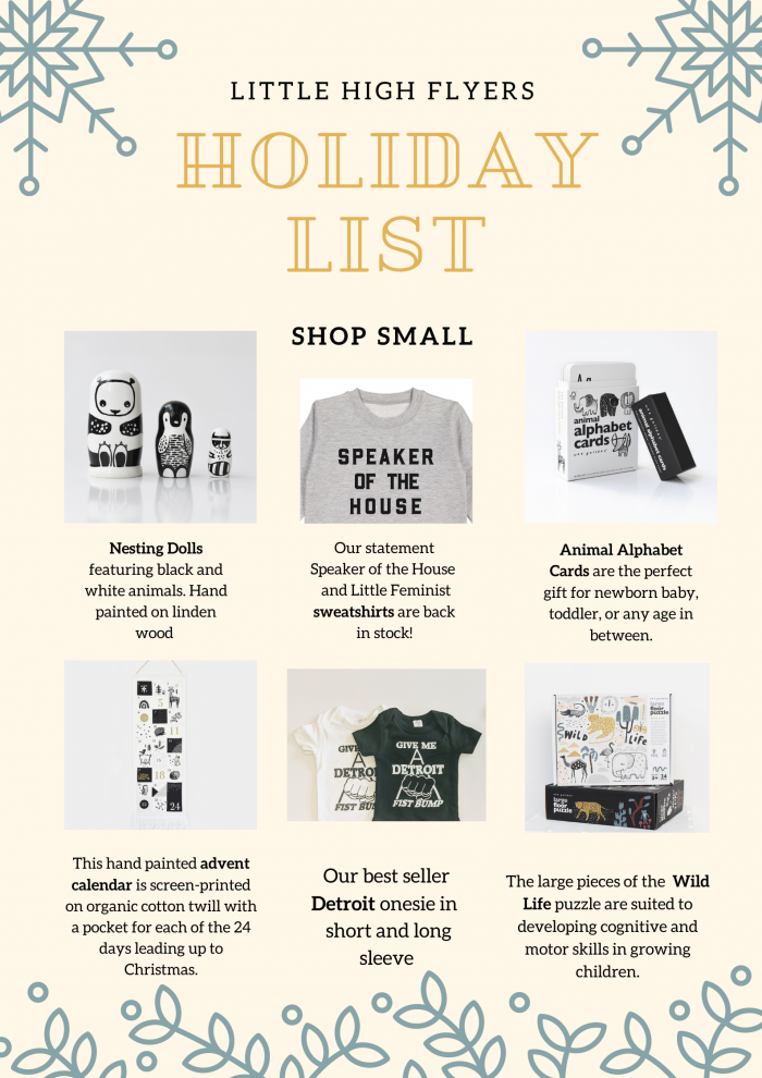 Sixteen Detroit Gift Ideas from Local Small Businesses