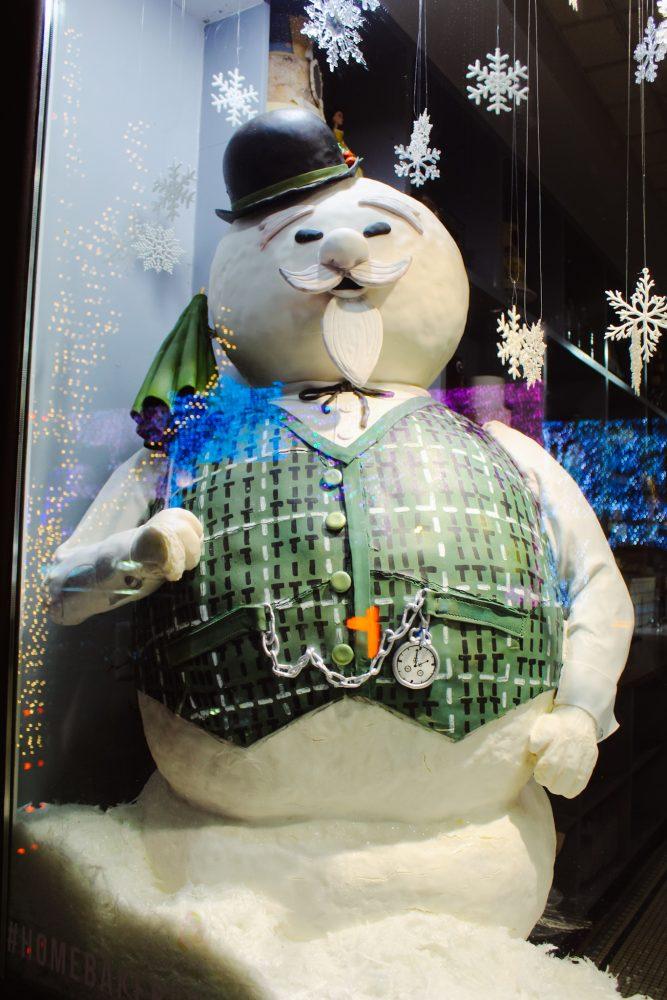Sam the Snowman Christmas Display
