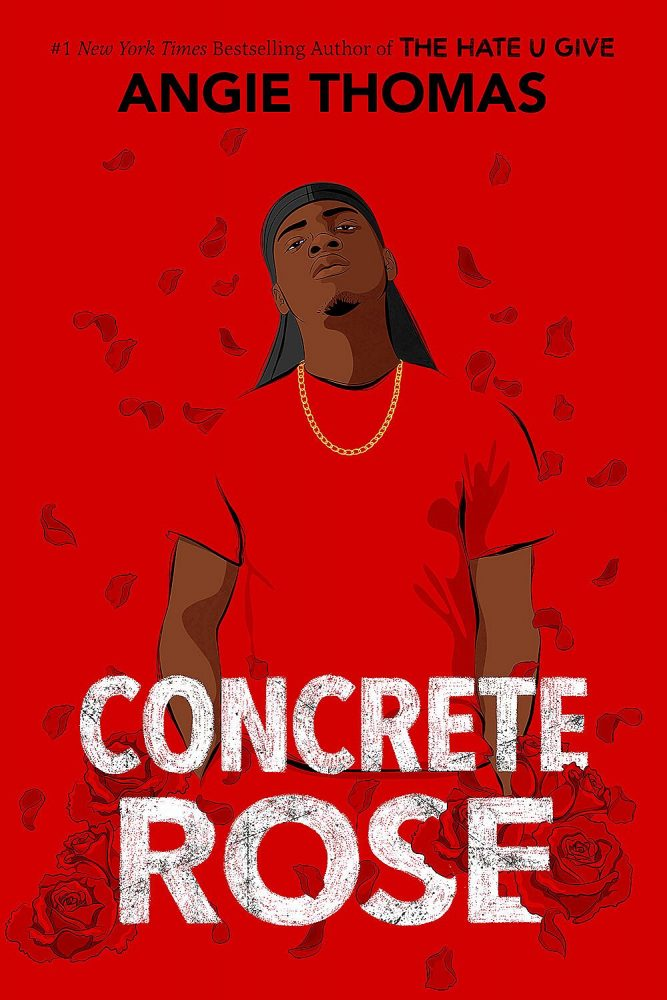 Angie Thomas new book is a prequel to The Hate U Give. The book is called Concrete Rose and it's about Maverick, Starr's dad.