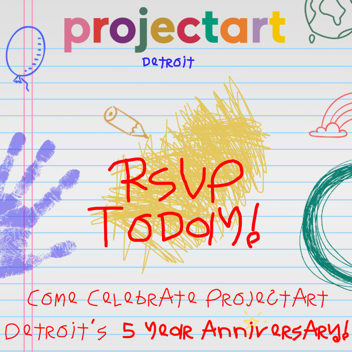 ProjectArt Detroit Celebrates 5th Anniversary with Virtual Event