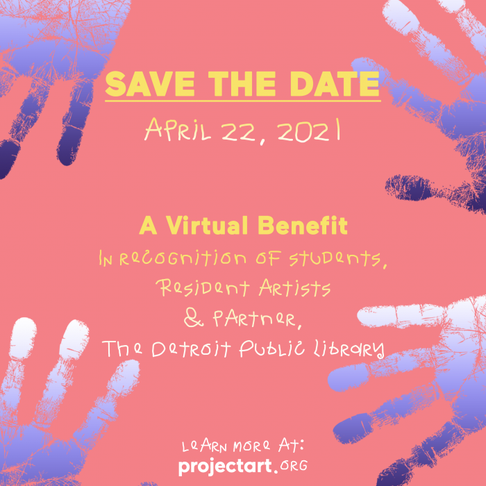 Save the Date for ProjectArt Detroit!