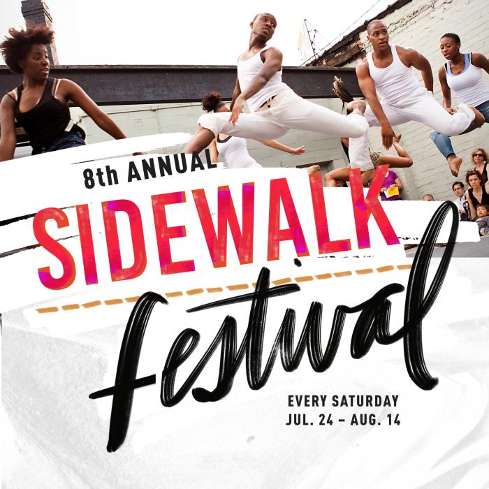 8th Annual Sidewalk Festival hosted by Sidewalk Detroit