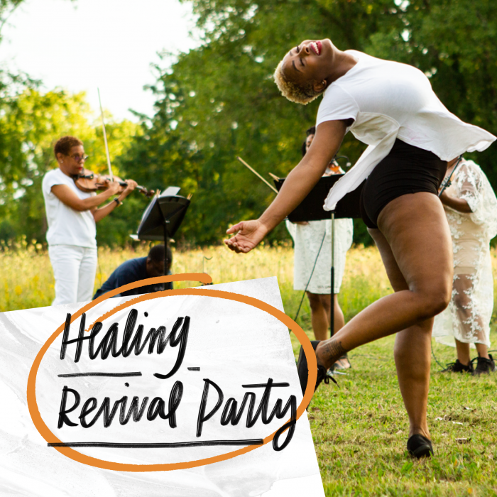 Healing Revival Party hosted by Sidewalk Detroit