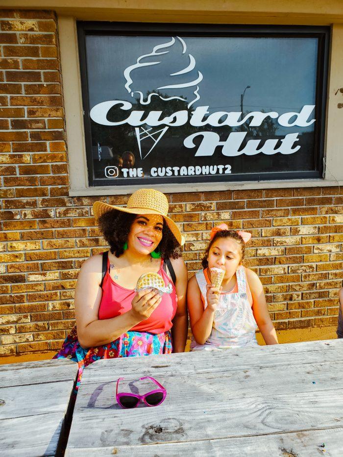 We loved visiting The Custard Hut Detroit!