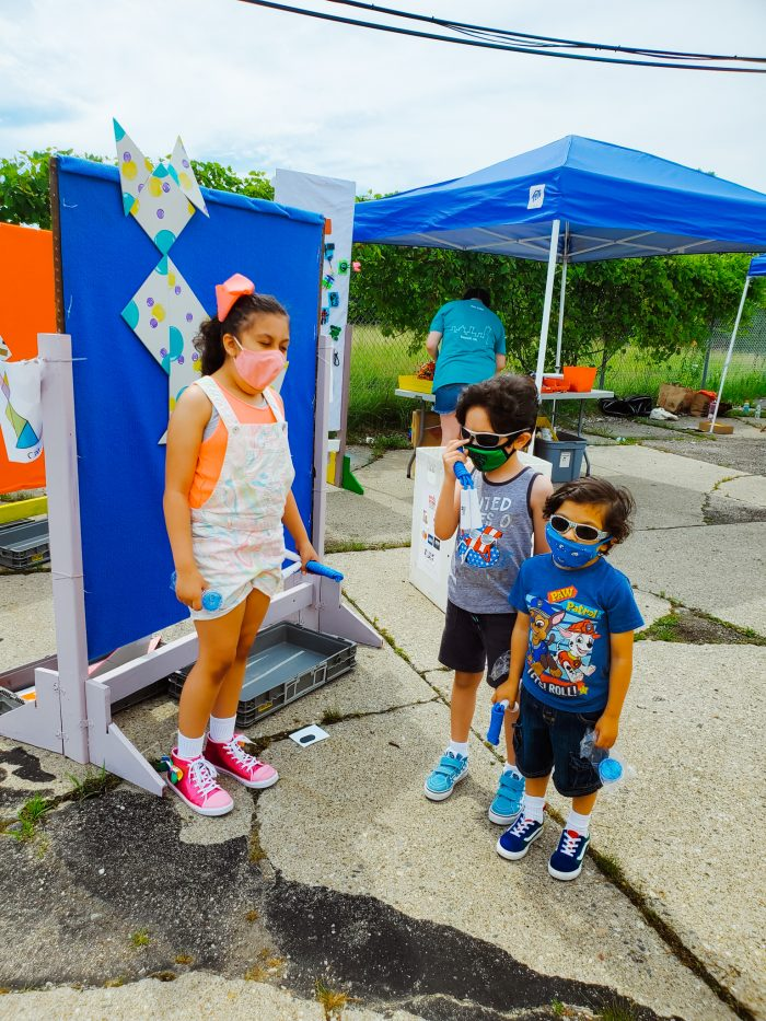 Arts and Scraps is a Detroit nonprofit organization. Reconnect Reuse Day is a fun community event open to the public.