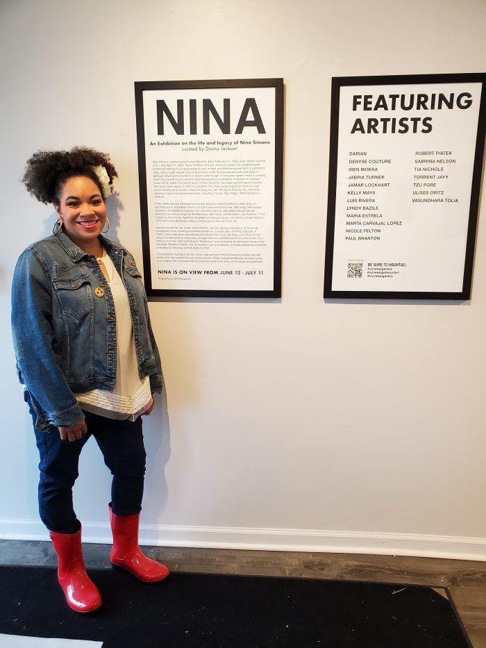 Excited to be back at the Norwest Art Gallery! It's one of my favorite art places in Detroit, Michigan.