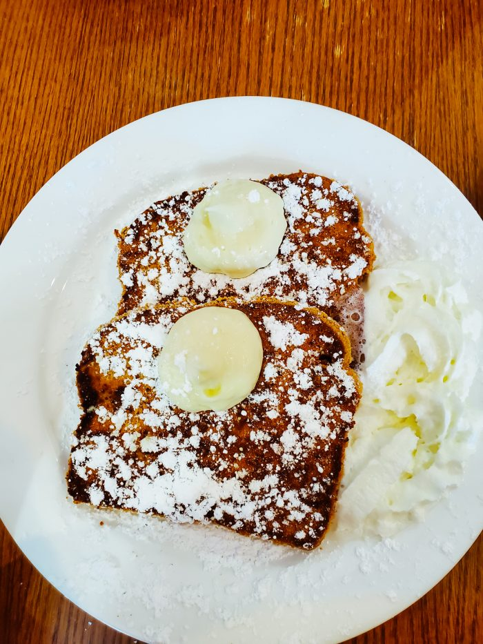 The Jagged Fork Graham Cracker Crusted French Toast