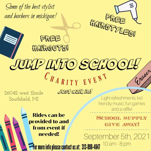 Detroit back-to-school events
