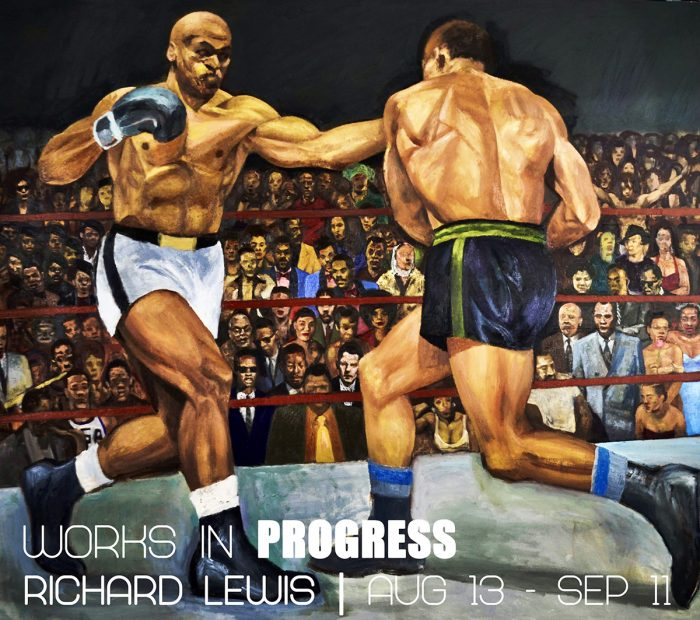 """""""Works In Progress"""" by Detroit artist Richard Lewis will be open until September 11, 2021 at the Galerie Camille in Detroit, Michigan."""