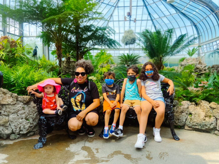 Belle Isle Conservatory in Detroit, Michigan