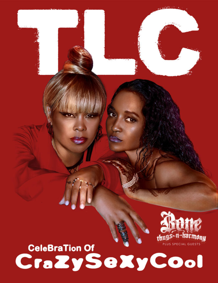 TLC Celebration of CrazySexyCool National Tour at the Michigan Lottery Amphitheatre at Freedom Hill in Sterling Heights, Michigan on September 14, 2021.