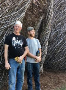 Patrick Dougherty and Sam Dougherty