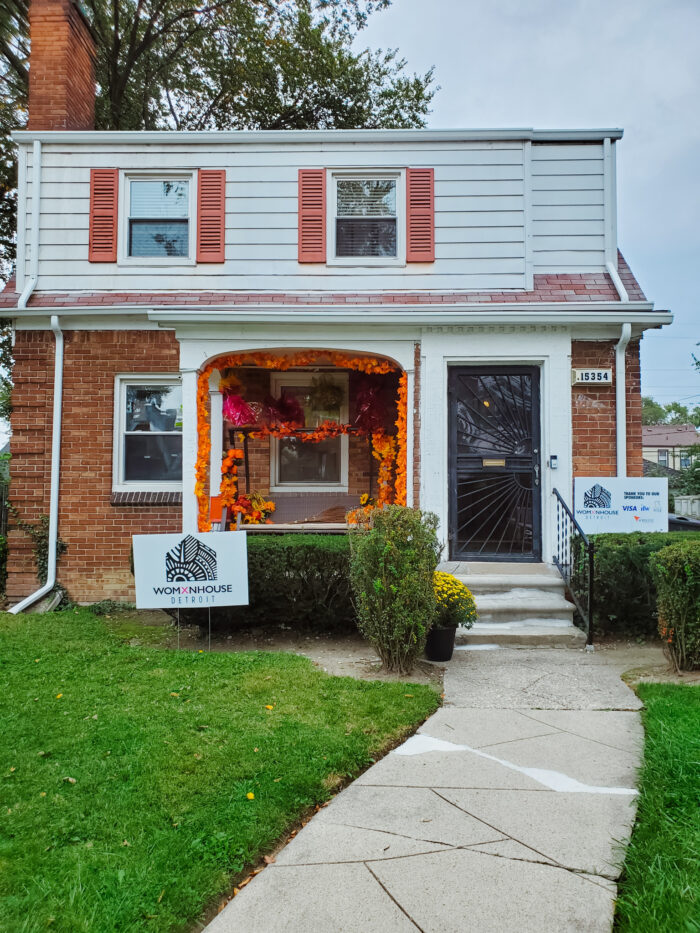 Womxnhouse Detroit is founded by Asia Hamilton, Detroit artist and founder of Norwest Art Gallery.