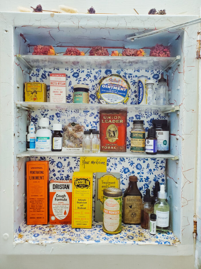 """Womxnhouse Detroit artwork by Sabrina Nelson. """"The Apothecary-- Home Medicines"""""""
