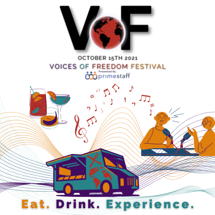 Freedom House Detroit presents Voices of Freedom on October 15, 2021.